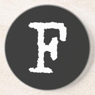 Letter F Coaster