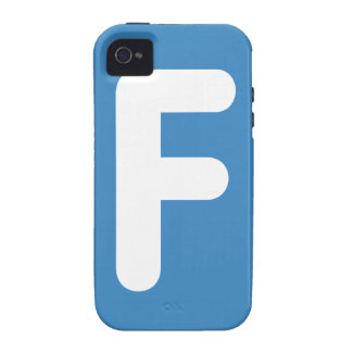 Letter F - emoji Twitter Vibe iPhone 4 Cover