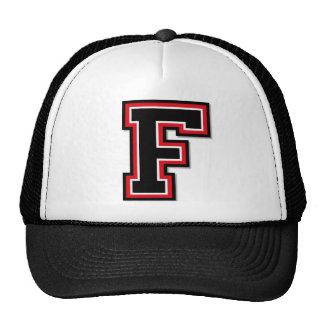 """Letter """"F"""" Monogram Cap"""