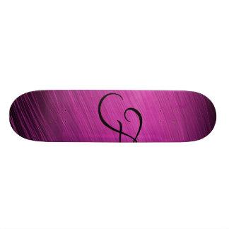 Letter F Skateboard