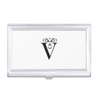 Letter Face Business Card Holder