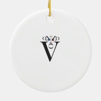 Letter Face  Ornament