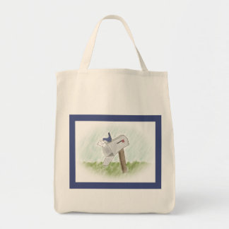 Letter from a Bluebird Tote Bag