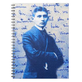 Letter From Kafka Spiral Notebook
