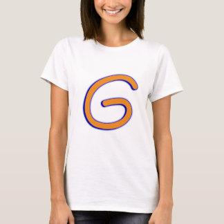 Letter G curve T-Shirt