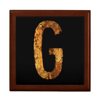 Letter G Gift Box