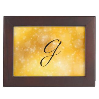 Letter G Keepsake Box