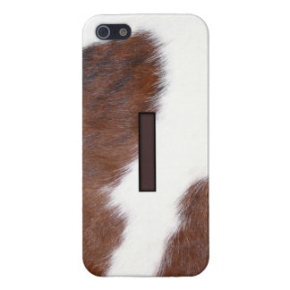 Letter I Brand Cowhide Livestock Iphone 5 Case