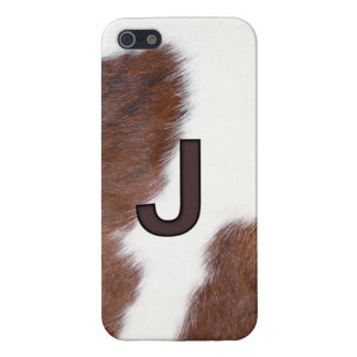 Letter J Brand Cowhide Livestock Iphone 5 Case