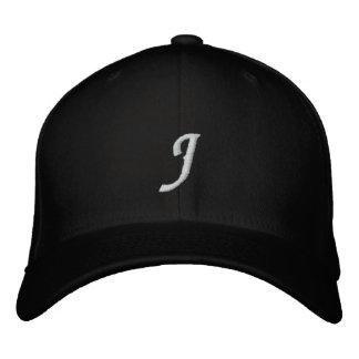 Letter J Embroidered Hat