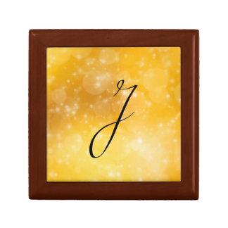 Letter J Trinket Box