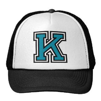 """Letter """"K"""" Monogram Hat"""