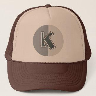 Letter K Trucker Hat