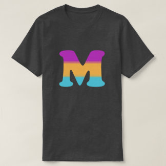 Letter M Sunrise T-Shirt