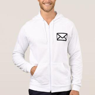 Letter mail envelope hoodie