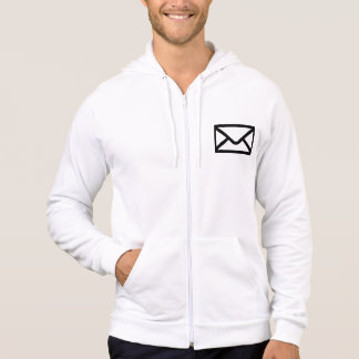 Letter mail envelope hoody