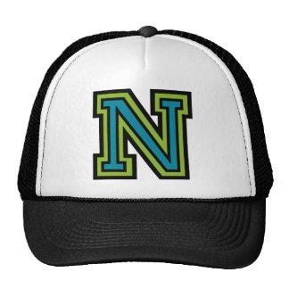 "Letter ""N"" Monogram Cap"