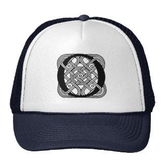 Letter O Vintage Celtic Knot Monogram Hats