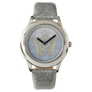 Letter P Angel Monogram Wristwatches