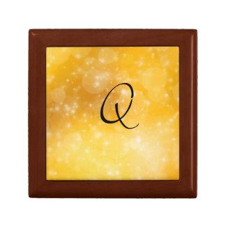 Letter Q Jewelry Box