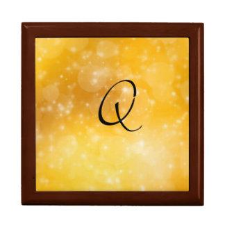 Letter Q Trinket Boxes