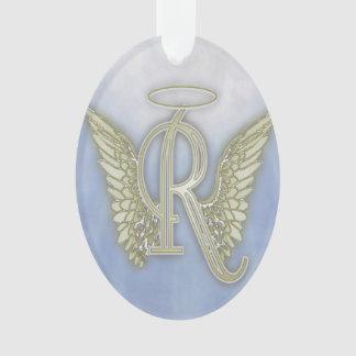 Letter R Angel Monogram