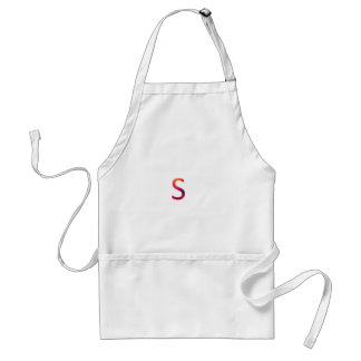"Letter ""s"" stands for smart standard apron"