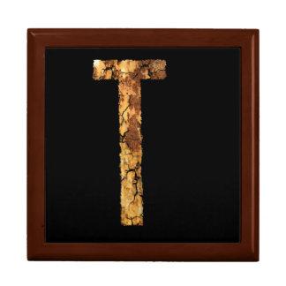 Letter T Gift Box