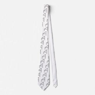 letter tie