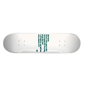 Letter To Cancer Skate Board Decks