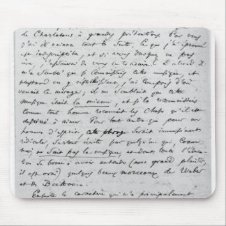 Letter to Richard Wagner  17th February 1860 Mouse Pad