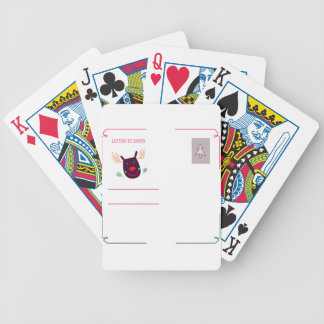 Letter to Santa I Bicycle Playing Cards