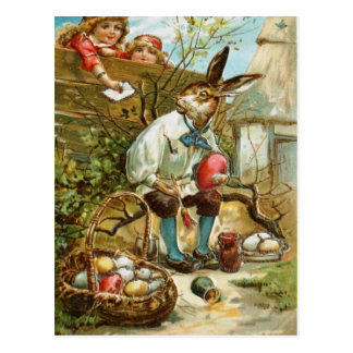 Letter to The Easter Bunny Postcard
