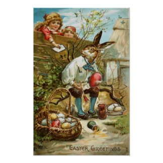 Letter to The Easter Bunny Posters