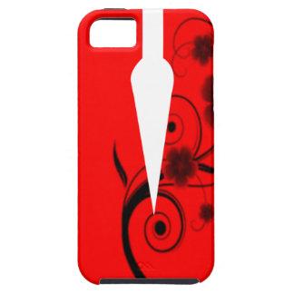Letter V Flower iPhone 5 Cases