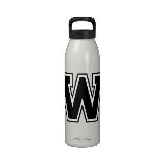 """Letter """"W"""" Water Bottles"""