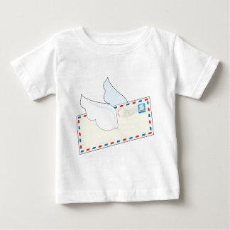 Letter with Wings Baby T-Shirt