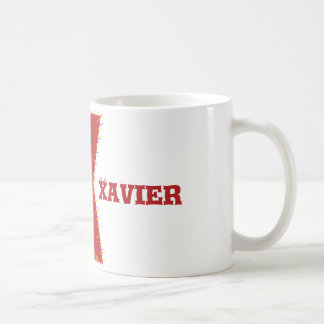 Letter X mug