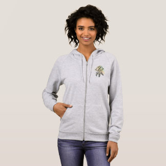 Letter Z hoodie for a girl of any age