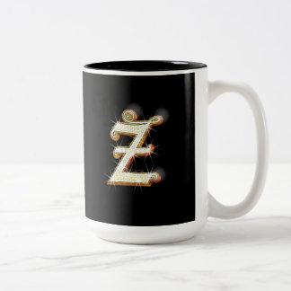 Letter Z Monogram Mug