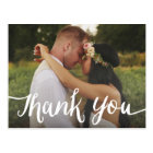 Lettered Overlay | Wedding Thank You Postcard