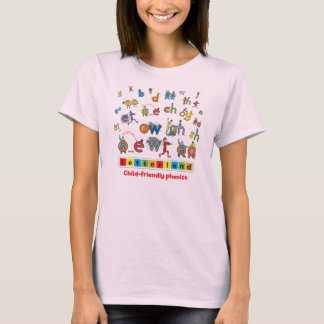 Letterland | Women's T-Shirt Full Colour