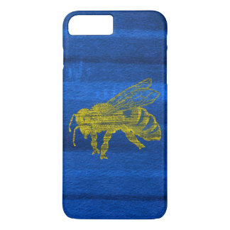 Letterpress Bee iPhone 7 Plus Case