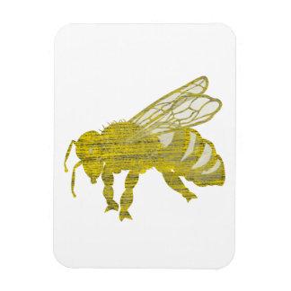 Letterpress Bee Magnet