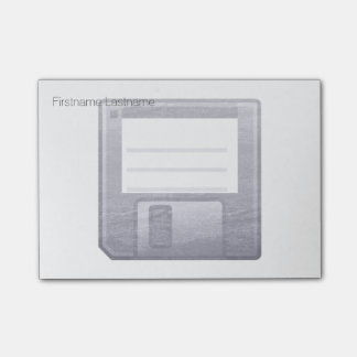 Letterpress Floppy Disk Post-it® Notes