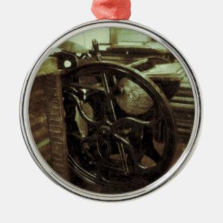 letterpress in studio grunge premium ornament