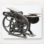 letterpress machine mousepad