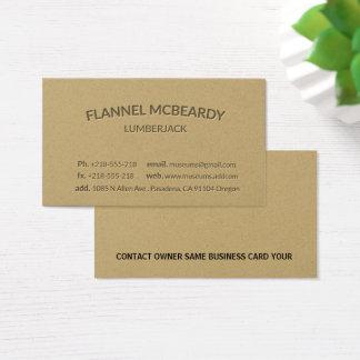Letterpress Modern Professional Gold Business Card