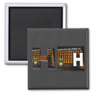 Letters - H - Hotel Magnet