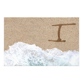 LETTERS IN THE SAND I STATIONERY DESIGN